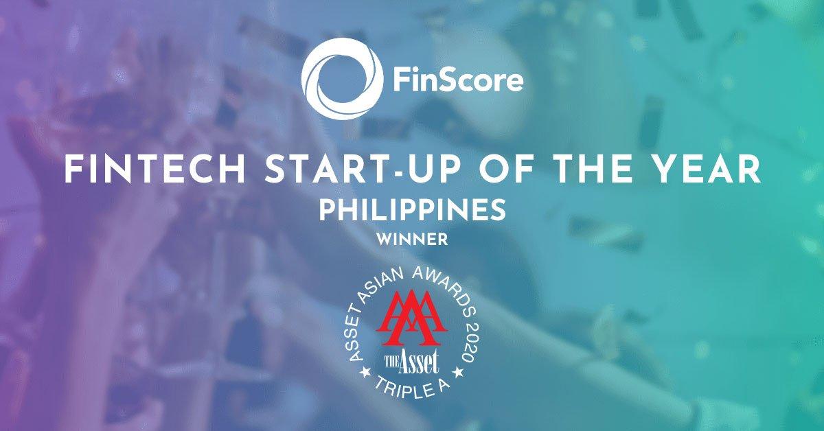 FinScore is PH '2020 Fintech Start-up of the Year'