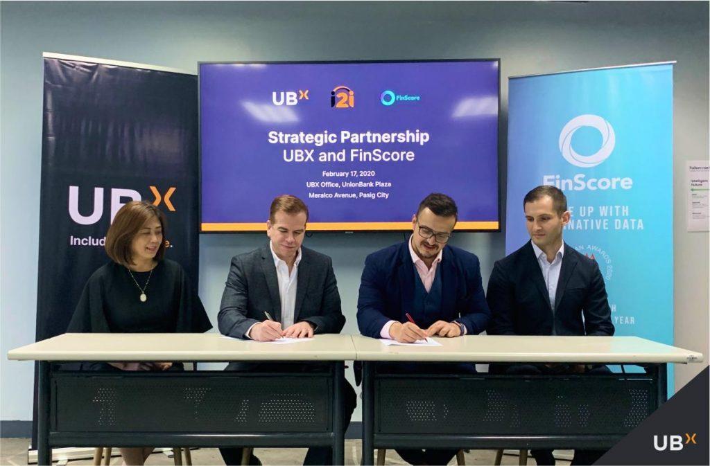 FinScore as Digital Credit Scoring Partner for UBX i2i Platform